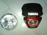Headlamp Ori Scorpio dan Headlamp Variasi