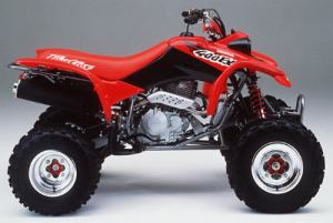 Salah satu jenis All Terrain Bike, Honda Fourtrax 400 cc