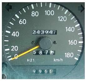 Perhatikan Odometernya Boss..