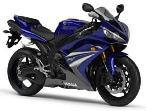 Salah satu jenis Sport Bike, Yamaha YZF 1000 cc (R-1)