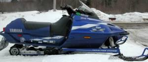 Salah satu jenis Snow Bike, Yamaha V-Max 500 cc