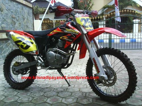 Tampilan baru Yamaha Scorpio - CRF250